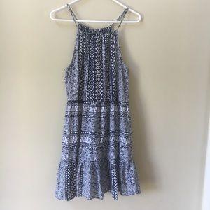 NWOT Loft Babydoll Patterned Dress